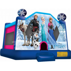 Frozen Moonwalk Bounce House