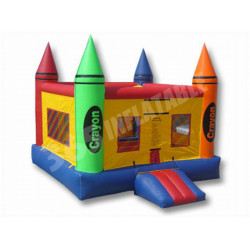 Crayon Inflatable Bouncer