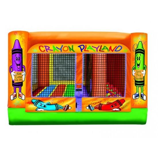Mini Crayon Play Land Inflatable Combo