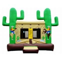 Western Themed Bounce House