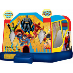 Justice League Backyard Bounce House