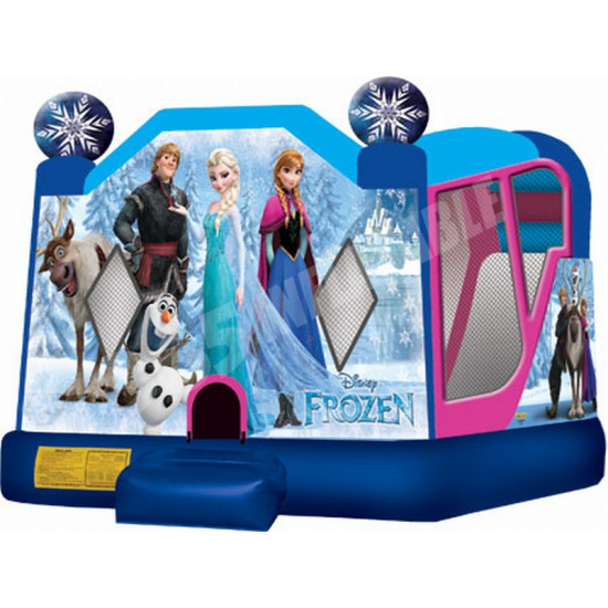 Frozen Bounce House Slide Combo