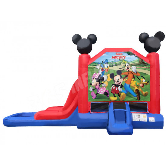 Mickey Mouse Bounce House Slide