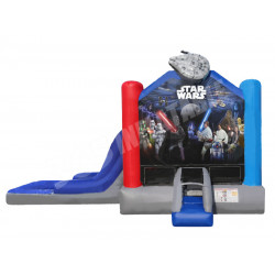 Starwars Bounce House Combo