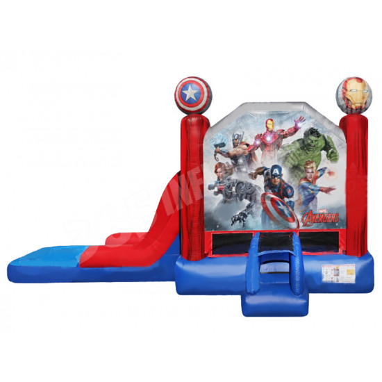 Avengers Bounce House Slide