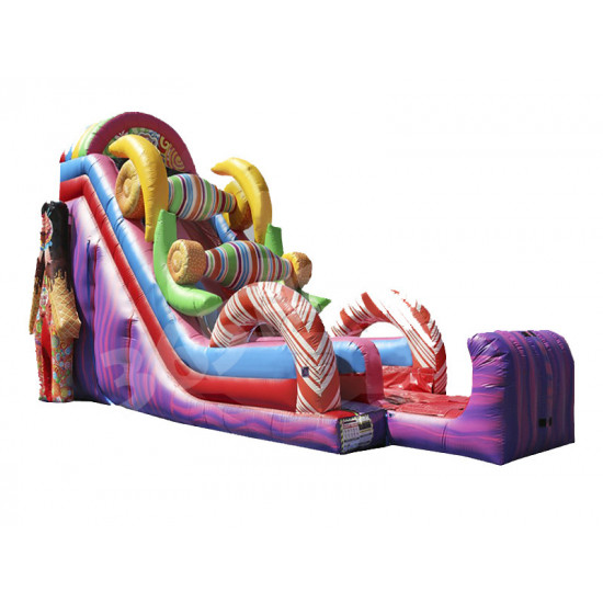 Ez Inflatables Sugar Rush Dry Slide