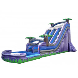 22' Double Bay Water Slide