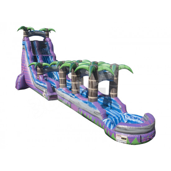 22ft Purple Crush With Slip Slide