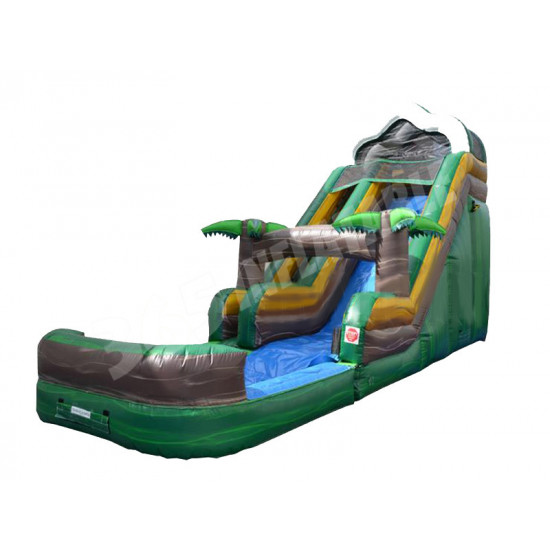 18' Water Slide Tropical Surf