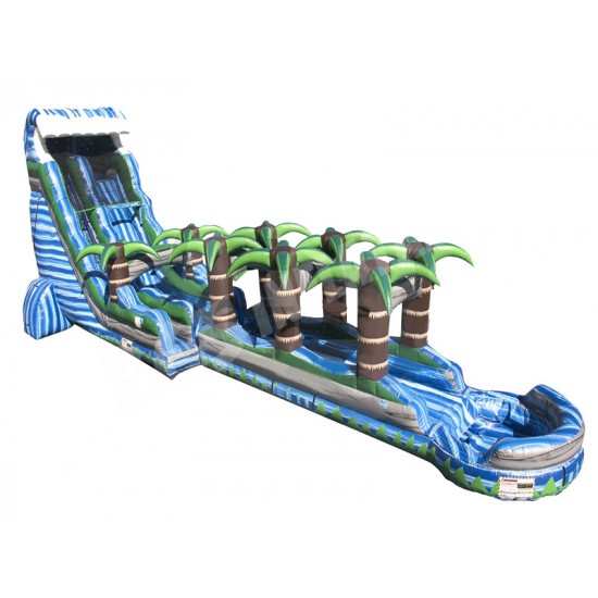 22ft Blue Crush Tsunami Slip N Slide