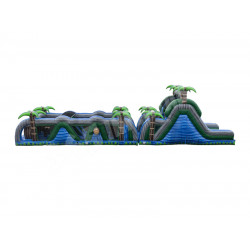 70 Ft Blue Crush Obstacle Course