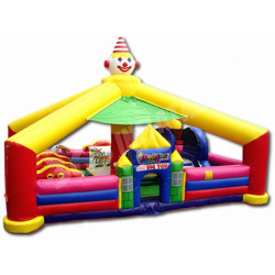 Circus Toddler Bounce House