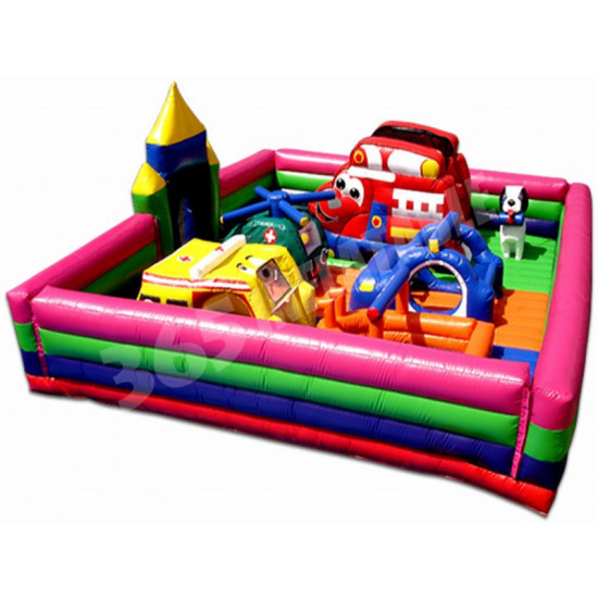 Rescue Heroes Toddler Bounce House