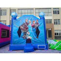 Frozen Moonwalk Bounce House