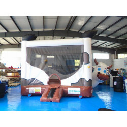 Cow Bounce House