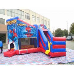 Spiderman Bounce House Slide