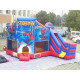 Spiderman Bounce House Slide