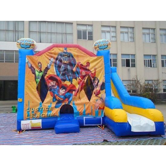 Justice League Combo Bounce House