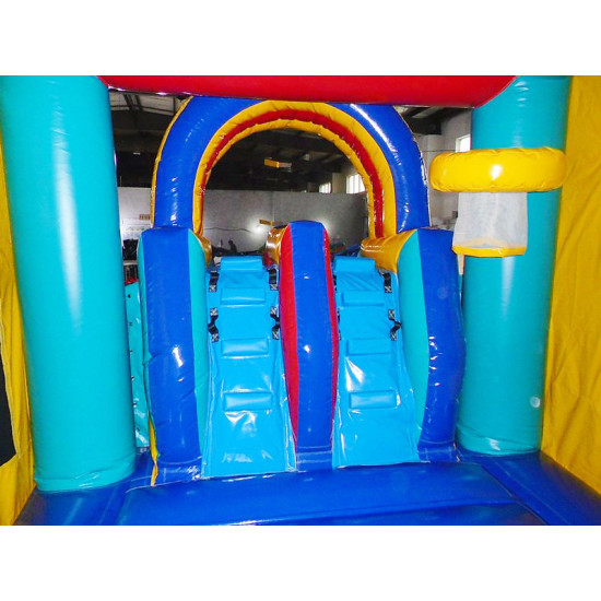 Inflatable Module Bouncer Combo With Pool