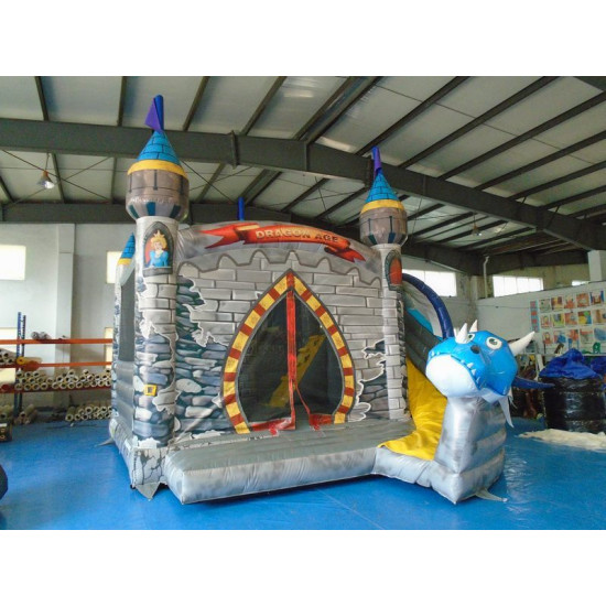 Dragon Inflatable Bouncy Slide