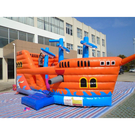 Inflatable Pirate Ship