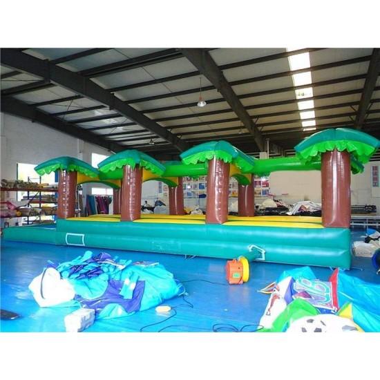 Hawaiian Slip And Slide Double Lane W Pool