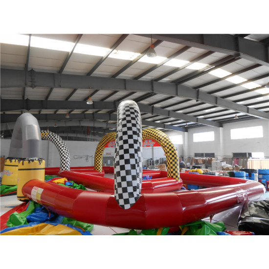 Inflatable Entertainment Race Track