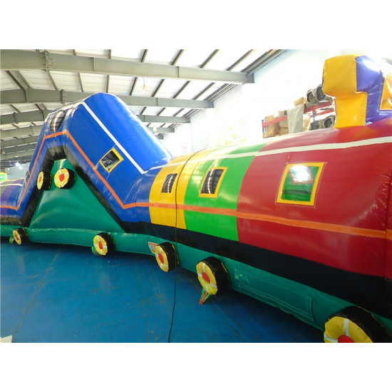 Inflatable Train Tunnel